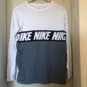 Nike multicolor long sleeve shirt boys